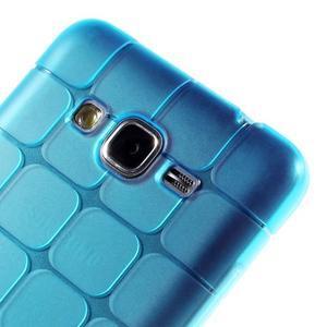 Square gélový obal pre Samsung Galaxy Grand Prime - modrý - 3