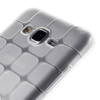 Square gélový obal na Samsung Galaxy Grand Prime biely - 3/5