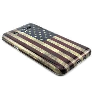 Gélový kryt pre Samsung Grand Prime - US vlajka - 3