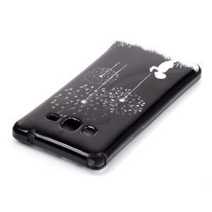 Jelly gélový obal na mobil Samsung Galaxy Grand Prime - púpavy - 3