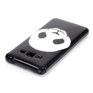 Jelly gélový obal na mobil Samsung Galaxy Grand Prime - panda - 3