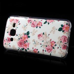 Gélové puzdro na mobil pre Samsung Galaxy J5 - kvetiny - 3