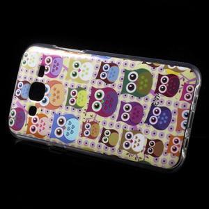 Gélové puzdro na mobil pre Samsung Galaxy J5 - sovičky - 3