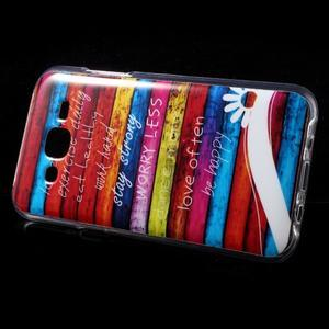 Gélové puzdro na mobil pre Samsung Galaxy J5 - farby dreva - 3