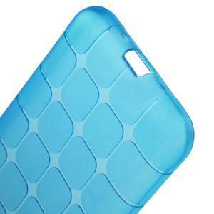 Square matný gélový obal na Samsung Galaxy J5 - modrý - 3