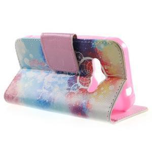 Vzorové peňaženkové puzdro na Samsung Galaxy Xcover 3 - snívanie - 3