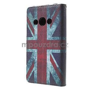 Štýlové peňaženkové puzdro pre Samsung Galaxy Xcover 3 - UK vlajka - 3