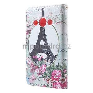 Štýlové peňaženkové puzdro pre Samsung Galaxy Xcover 3 - Eiffelova veža - 3