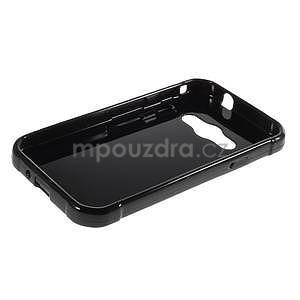 Leklý gélový kryt na Samsung Galaxy Xcover 3 - čierný - 3