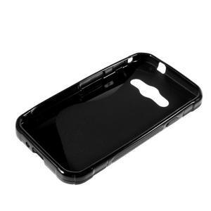 S-line gélový obal na Samsung Galaxy Xcover 3 - čierny - 3