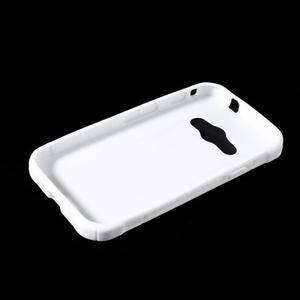 S-line gélový obal pre Samsung Galaxy Xcover 3 - biely - 3