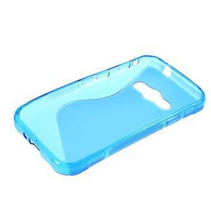 S-line gélový obal na Samsung Galaxy Xcover 3 - modrý - 3