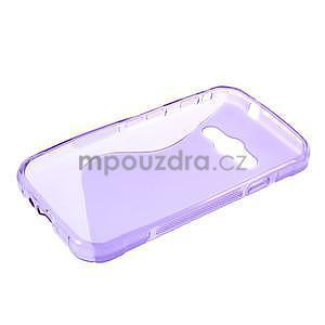 S-line gélový obal na Samsung Galaxy Xcover 3 - fialový - 3