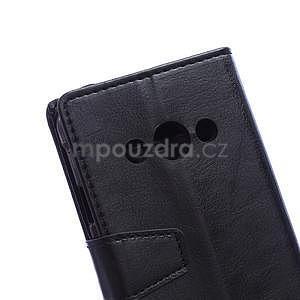Čierne koženkové puzdro Samsung Galaxy Xcover 3 - 3