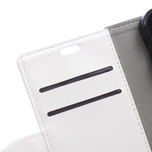 Biele koženkové puzdro Samsung Galaxy Xcover 3 - 3