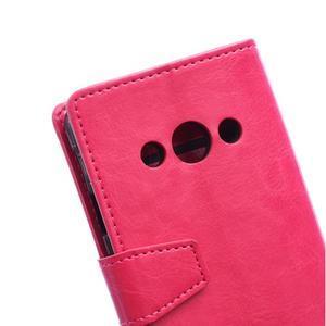 Rose koženkové puzdro Samsung Galaxy Xcover 3 - 3