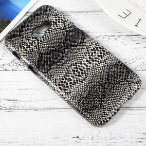 Hardy plastový obal pre Samsung Galaxy A3 (2017) - hadia koža - 3