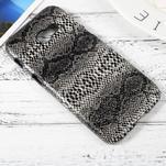 Hardy plastový obal pre Samsung Galaxy A3 (2017) - hadia koža - 3/3