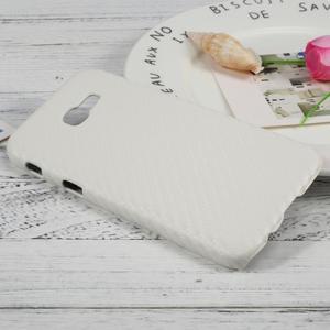 Hardy plastový obal pre Samsung Galaxy A3 (2017) - biely karbon - 3