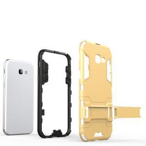 Guardy odolný obal pre Samsung Galaxy A5 (2017) - šedomodrý - 3