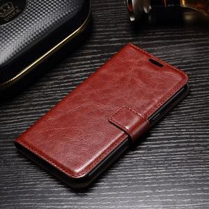 Francis peňaženkové puzdro pre Samsung Galaxy A5 (2017) - hnedé - 3