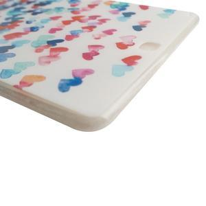 Ultrantenký obal pre tablet Samsung Galaxy Tab A 9.7 - srdiečka - 3