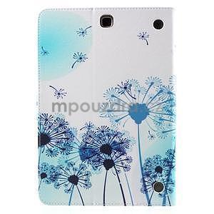 Ochranné pouzdro na Samsung Galaxy Tab A 9.7 - modré pampelišky - 3