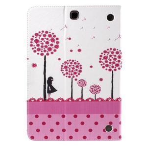 Ochranné puzdro pre Samsung Galaxy Tab A 9.7 - dievča a púpavy - 3