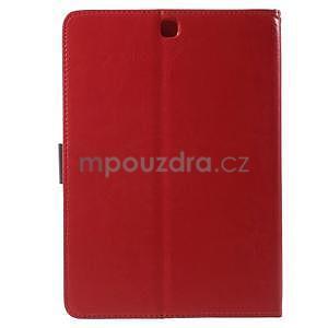 Flatense štýlové puzdro pre Samsung Galaxy Tab S2 9.7 - červené - 3