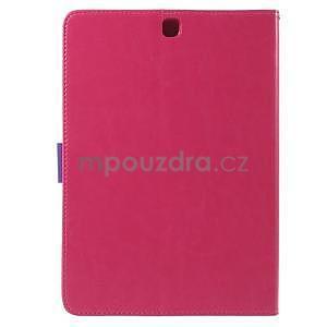 Flatense štýlové puzdro pre Samsung Galaxy Tab S2 9.7 - rose - 3