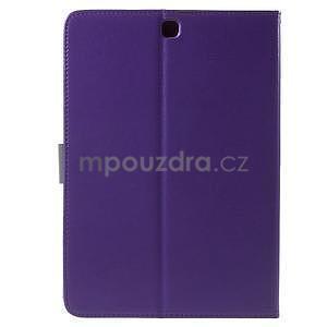 Flatense štýlové puzdro pre Samsung Galaxy Tab S2 9.7 - fialové - 3