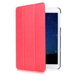 Trifold polohovateľné púzdro pre Samsung Galaxy Tab S2 9.7 -  červené - 3
