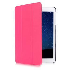 Trifold polohovateľné púzdro pre Samsung Galaxy Tab S2 9.7 - rose - 3