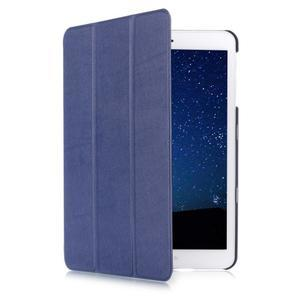 Trifold polohovateľné púzdro na Samsung Galaxy Tab S2 9.7 - tmavomodré - 3