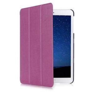 Trifold polohovateľné púzdro pre Samsung Galaxy Tab S2 9.7 -  fialové - 3