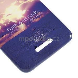 Gélový obal pre Sony Xperia E4 - vycházející slnko - 3