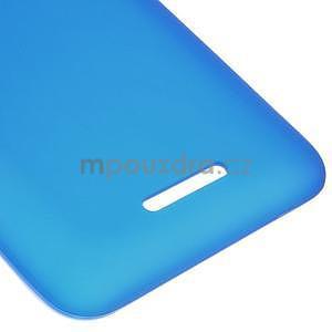 Gelový jednobarevný obal pro Sony Xperia E4 - modrý - 3