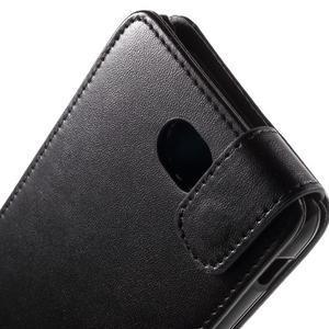 Flipové pouzdro na mobil Sony Xperia E4 - černé - 3