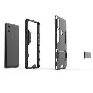 Guard odolný hybridný obal na mobil Xiaomi Mi Mix 2s - strieborný - 3