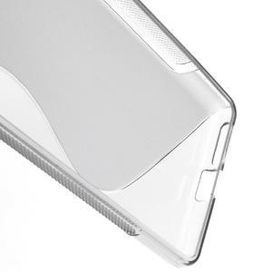 S-line gélový obal pre mobil Sony Xperia E5 - sivý - 3