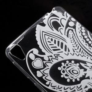 Ultratenký gélový obal na Sony Xperia E5 - květina - 3