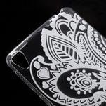 Ultratenký gélový obal na Sony Xperia E5 - květina - 3/5