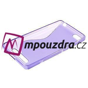 S-line gelový obal na mobil Xiaomi Mi4c/Mi4i - fialový - 3