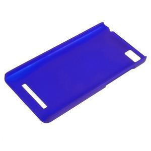 Pogumovaný plastový obal na Xiaomi Mi4c/Mi4i - modrý - 3
