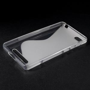 S-line gelový obal na mobil Xiaomi Mi4c/Mi4i - transparentní - 3