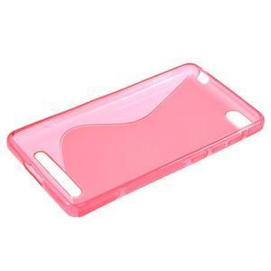 S-line gélový obal pre mobil Xiaomi Mi4c/Mi4i - rose - 3