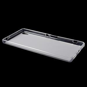 Matný gelový obal na Sony Xperia XA Ultra - transparentní - 3