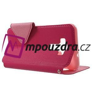 Diary puzdro s okýnkem na mobil Asus Zenfone 3 ZE520KL - rose - 3