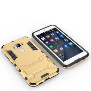 Odolný obal pre mobil Asus Zenfone 3 ZE520KL - zlatý - 3