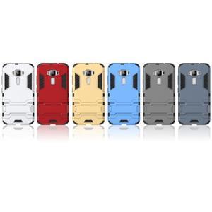 Odolný obal pre mobil Asus Zenfone 3 ZE520KL - strieborný - 3